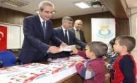 Demirkol, çocuk hakları gününde çocuklarla buluştu