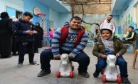 Down sendromlu Suriyeli çocuklara özel merkez