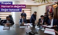 Valilikte dört projenin protokol imzaları atıldı