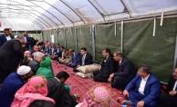 Başkan Atilla Harranlı Şehit Ailesinin Acısını Paylaştı