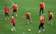 Göztepe'de Osmanlıspor maçı hazırlıkları