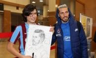 Trabzonspor kafilesi Ankara'ya gitti