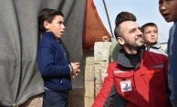 Türk Kızılayından İdlib'deki sığınmacılara yardım eli