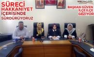 Başkan Güven Harran ve Akçakale mülakatlarına katıldı