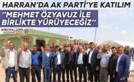 Harran'da AK Parti'ye katılım