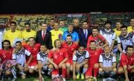 Irak'taki dostluk maçını Türkiye kazandı