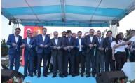 Bakan Fakıbaba Harran'da açılış yaptı, temel attı