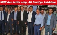 AK Parti'ye ovadan güçlü katılım
