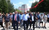 İnce'ye Ankara mitingi öncesi komşu desteği