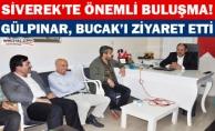Kasım Gülpınar, Fatih Bucak'ı ziyaret etti!