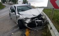 Kocaeli'de otomobil kamyonetle çarpıştı: 6 yaralı
