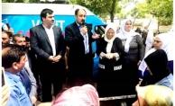 Zeynep Bucak'tan Gülpınar'a destek mitingi!