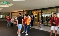 Galatasaray kafilesi İsviçre'de
