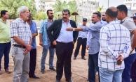 Başkan Atilla; Zeytin Dalı Parkını İnceledi