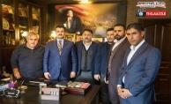 Başkan Yıldız seçim gündemini Sedat Atilla'ya değerlendirdi