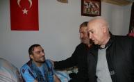 Trabzonspor'dan yaralı askere ziyaret
