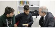 Başkan Demirkol, Ders Çalışan Gençleri Ziyaret Etti