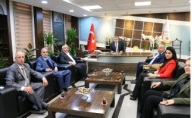 TÜMSİAD'dan Başkanlara Ziyaret