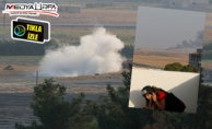 Ceylanpınar#039;a havan mermisi düşme anı