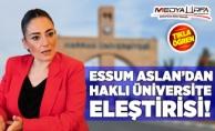 Harran Üniversitesi o listede yine yok!