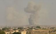 Tel Abyad#039;daki terör hedefleri ateş altında