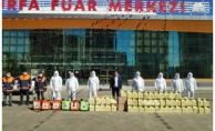Büyükşehir Pazar Yerlerinde Ücretsiz Maske Dağıttı
