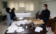 Karaköprü Belediyesi Sağlık Çalışanları İçin Maske Üretiyor