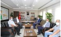 Özyavuz, DSİ Bölge Müdürü Berber'i ziyaret etti
