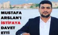 Mustafa Arslan#039;a İstifa Çağrısı