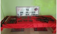 Şanlıurfa#039;da silah kaçakçılığı operasyonu: 8 gözaltı