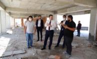Karaköprü'de Yüzme Havuzu Çalışmaları Tam Gaz