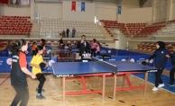 Küçükler Masa Tenisi Takım Yarışmaları Başladı