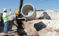 Şuski Akçakale'de Alt Yapı Hizmetlerini Sürdürüyor