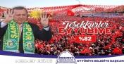 Eyyübiye'den Erdoğan'a Büyük EVET Desteği