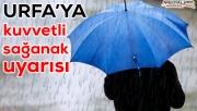 Meteorolojiden Urfa için uyarı üstüne uyarı