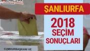 Şanlıurfa'da güncel seçim sonuçları!