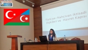 Urfalı akademisyen Sakar, Azerbaycan'da konferans verdi