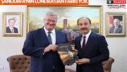 Ukrayna Büyükelçisi Sybiha Şanlıurfa'da