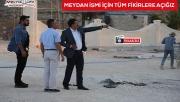 Urfa'nın en büyük meydanını Eyyübiye yapıyor