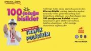 Urfa'da en çok beğeni alan 100 çocuğa bisiklet