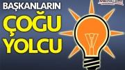 AK Parti'de başkanların çoğu gidici!