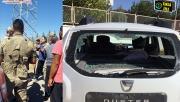 Hilvan'da kaçak elektrik denetimi yapan ekibe saldırı