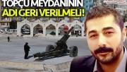 Tatlıses'ten Büyükşehire Topçu Meydanı dilekçesi!