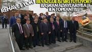 Beyazgül ve Vekiller Başkan adaylarıyla görüştü!