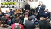 Bezki Aşiretinden AK Parti'ye tam destek!