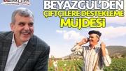 Beyazgül'den çiftçilere destekleme müjdesi!