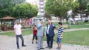 Canpolat parkta vatandaşlarla buluştu