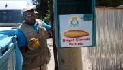 Haliliye'de ekmek israfı önleniyor