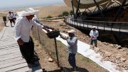 Göbeklitepe'ye yağmur suyu koruması