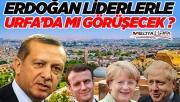 Erdoğan liderlerle Urfa'damı görüşecek ?